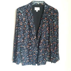Ella Moss Black Floral Jacket -Sz XS